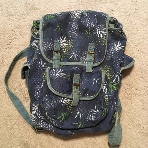 Claire's Pineapple Backpack